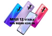 miui 12 stable for redmi k30i 5g