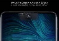 Under-display Camera technology